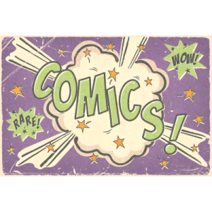 Comics Category Logo